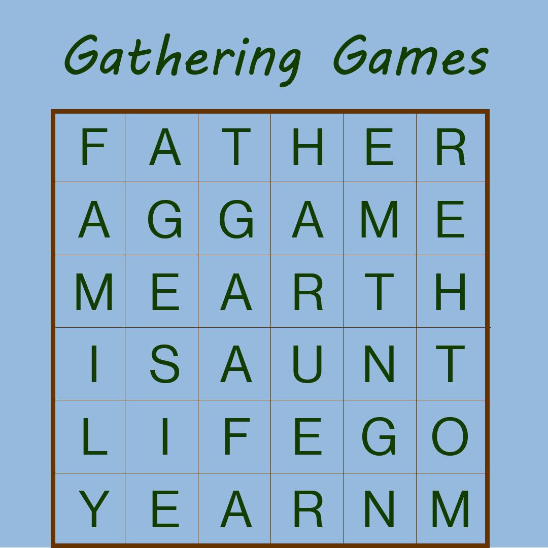 Gathering Games